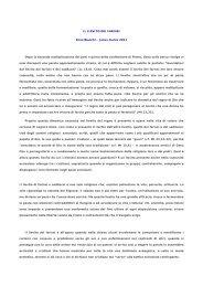 Vedi Articolo di Enzo Bianchi – Jesus marzo 2011 - ACLI Trentine