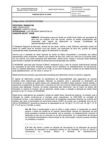 ote-ditri-2002 - Sefaz Net