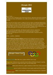 Olympic 2012 - Namaaste Kitchen