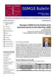 Vol. 4, Issue 1, March 2010 - Australian Geomechanics Society