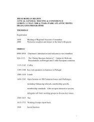 European Conference Programme - JHI