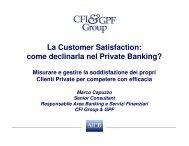 La Customer Satisfaction - Strumentiperassociazioni.it