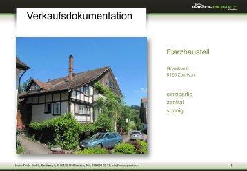 Verkaufsdokumentation Zumikon als PDF Download - Immo-Punkt ...