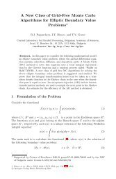 A New Class of Grid-Free Monte Carlo Algorithms for Elliptic ...