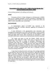 File No. A-5/UD-12/Service/2007/RU-II 1 Proceedings of the sitting ...