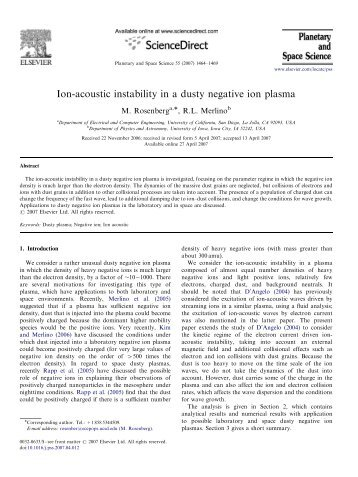 Ion-acoustic instability in a dusty negative ion plasma