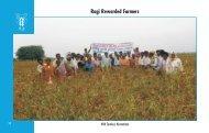 Ragi Rewarded Farmers