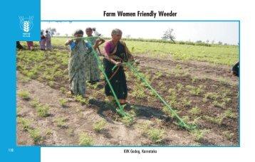 Farm Women Friendly Weeder