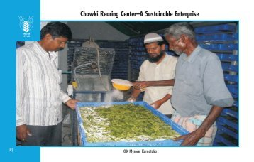 Chawki Rearing Center–A Sustainable Enterprise