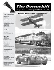 July 2009 - Planes, Trains, And Automobiles - Chicagoland Sports ...