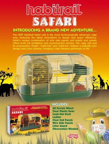 Habitrail Safari - A brand new adventure - Rolf C. Hagen Inc.