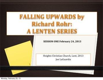 Week 1 - Heights Christian Church