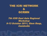 Monitoring Coral Reef Marine Protected Areas - East Asia Regional ...