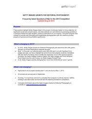 Editorial Grant FAQ (PDF, 49 KB) - Olympic Photography & Archival ...