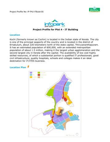 Project Profile for Plot 4 - IT Building Location ... - Emerging Kerala