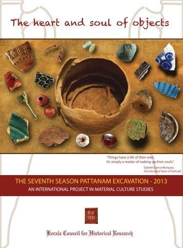 Pattanam Material Culture Studies - Kerala History