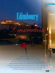 Edimbourg - Magazine Sports et Loisirs