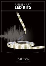 LED KITS - In-Akustik