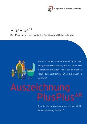 Auszeichnung PlusPlusAR - gewerbeAR.ch
