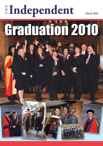 March 2010 - University of Buckingham