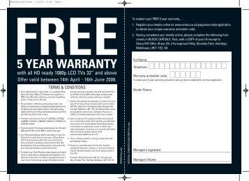FREE 5 YEAR WARRANTY - Hiway Hi-Fi