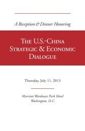 the Online Press Kit - National Committee on United States-China ...