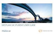 Westlaw UK Student User Guide - University of Buckingham