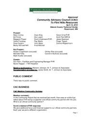 April 12, 2010 Approved Minutes - Community Advisory Council to ...