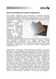 więcej - SE Spezial-Electronic Sp. z o.o