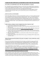 Internship Guidelines [PDF] - Miami University School of Fine Arts