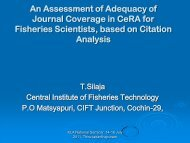 T. Silaja. An assessment of Adequacy of Journal Coverage in CeBA ...