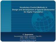 C. Sugumaran. Vocabulary Control Methods in Design and