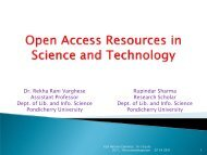 Dr. Rekha Rani Varghese and Rupender Sharma. Open Access ...