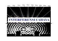 Bab-4. Interferensi Cahaya