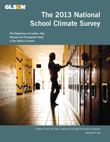 2013 National School Climate Survey Full Report_0
