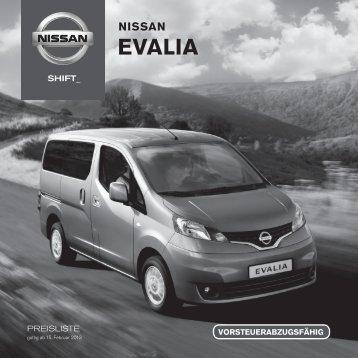 EVALIA - Nissan