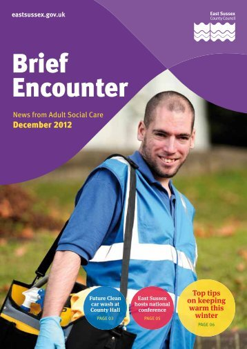 Brief Encounter - December 2012 - East Sussex County Council