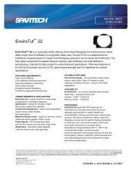 EnviroTuf 22 - Spartech Corporation