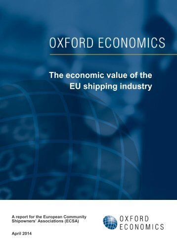 2014-04-01 Oxford Economics ECSA Report FINAL