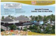 Splendid Vietnam Luxury Tour 21 days 2014 (Spring Tour) Splendid ...