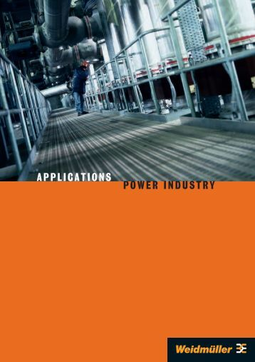 APPLICATIONS POWER INDUSTRY