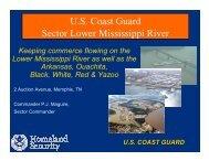 U.S. Coast Guard Sector Lower Mississippi River