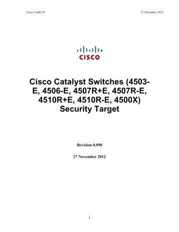 Security Target - Common Criteria