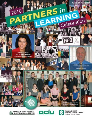 Partners in Learning BK 2010full bk for web:Layout 1 - Franklin Mint ...