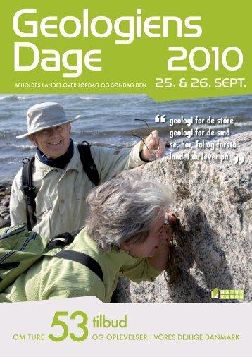 Geologiens Dage 2010