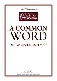 A COMMON - The Royal Islamic Strategic Studies Centre