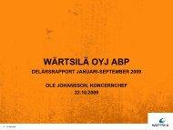 Services - Wärtsilä