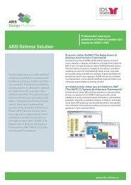 ARIS Defense Solution - IDS  Scheer AG
