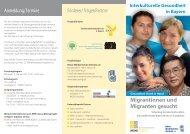 Schulungsflyer Landshut - Bkk-bv-gesundheit.de