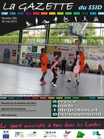 Gazette N°260 - drjscs